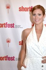 Brittany Snow At 25th Annual Palm Springs International ShortFest