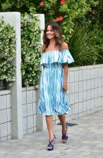 Brooke Burke-Charvet Looking Fabulous After a Meeting in Santa Monica