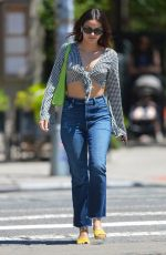 Camila Mendes & Charles Melton Out for a walk in downtown Manhattan