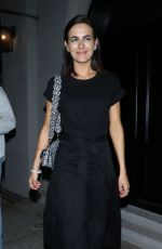 Camilla Belle At Dinner at Craig