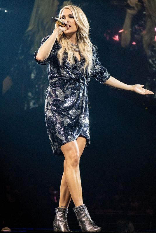 Carrie Underwood Performs at Fiserv Forum in Milwaukee Wisconsin