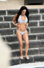 Casey Batchelor In bikini On holiday in Italy