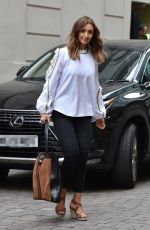 Catherine Tyldesley Out For Lunch At Peter Street Kitchen Restaurant in Manchester
