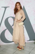 Charlotte Dellal Attending the Victoria and Albert Museum Summer Party, in South Kensington, London