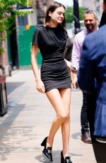 Charlotte Lawrence Out in NYC