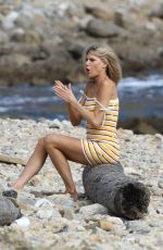 Charlotte McKinney During a photoshoot in Los Angeles