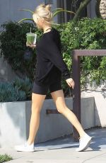 Charlotte McKinney Grabs a green tea at Cha Cha Matcha in West Hollywood