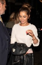 Cheryl Tweedy On a Night Out in Mayfair London