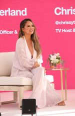 Chrissy Teigen At Spotify