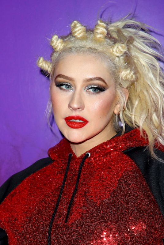 "Christina Aguilera At Grand Opening for ""Christina Aguilera: The Xperience"" at Planet Hollywood Resort & Casino in Las Vegas"