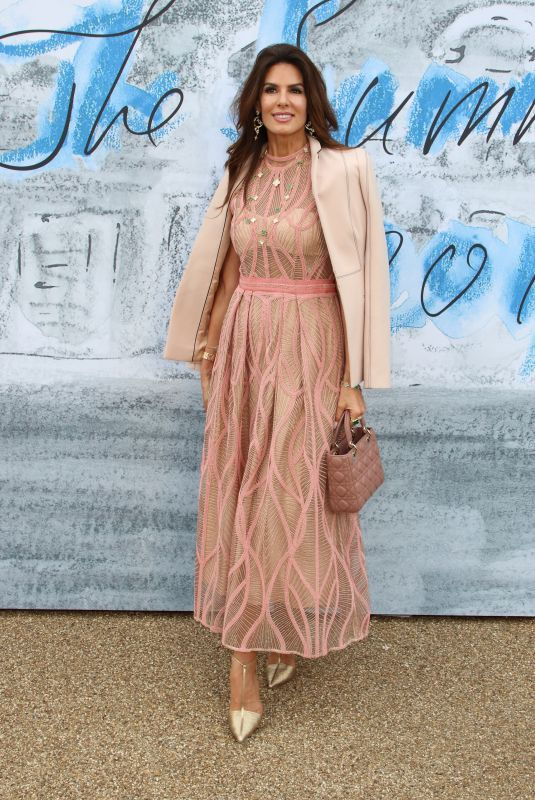 Christina Estrada Attends the Serpentine Gallery Summer Party at Hyde Park in London