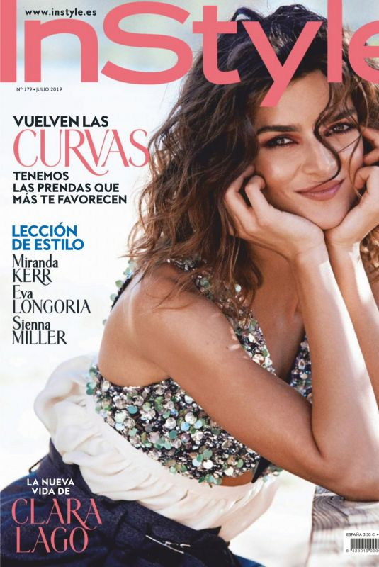 Clara Lago - Instyle Magazine Spain, July 2019