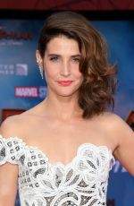 "Cobie Smulders At ""Spider-Man Far From Home"" premiere in Hollywood"