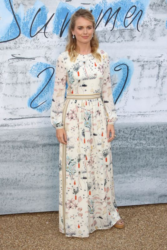 Cressida Bonas Attends the Serpentine Gallery Summer Party at Hyde Park in London