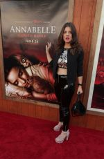 "Daniela Aita At ""Annabelle Comes Home"" Premiere in Westwood"