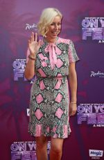 Denise Van Outen At On Your Feet! Press Night in London