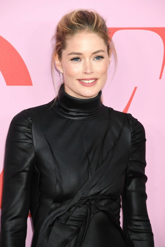 Doutzen Kroes At CFDA Fashion Awards, Brooklyn Museum, New York