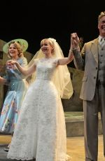 "Dove Cameron At the curtain call during the press night performance of ""The Light In The Piazza"" at The Royal Festival Hall"