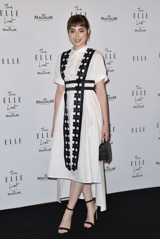 Ellise Chappell At ELLE List in Association with Magnum Ice Cream in London