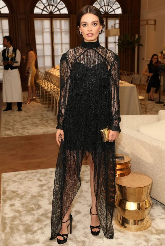 Emma Mackey At Cartier and British Vogue Darlings Dinner at the Residence at Cartier New Bond Street in London