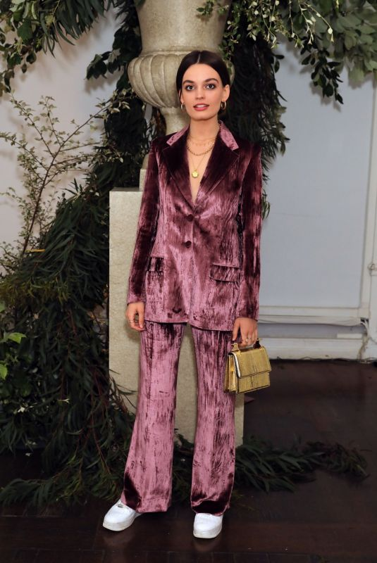 Emma Mackey Attends The Wing intimate dinner to celebrate it