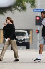 Emma Watson Spent her Wednesday afternoon on Abbott Kinney all with the company of a mystery guy in Venice