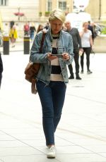 Emma Willis At The One Show At BBC Studios in London