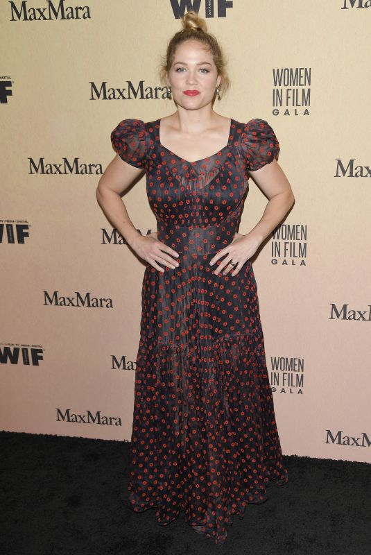 Erika Christensen Arrives at the 2019 Women In Film Annual Gala held at the Beverly Hilton in Beverly Hills
