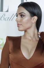 Georgina Rodriguez Attending the Elle gala dinner for CRIS Foundation against Cancer at Intercontinental Hotel in Madrid