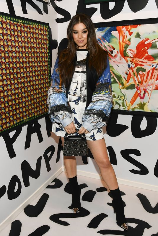 Hailee Steinfeld At Louis Vuitton X Cocktail Party in LA