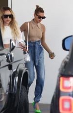 Hailey Baldwin Leaving a DG Shop in Hollywood
