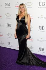 Hayley Hughes Arrives for the Caudwell Children Butterfly Ball charity event at the Grosvenor House, Park Lane, London