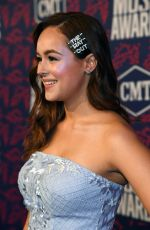 Hayley Orrantia At 2019 CMT Music Awards in Nashville