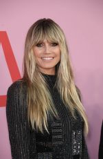 Heidi Klum At CFDA Fashion Awards in New York City