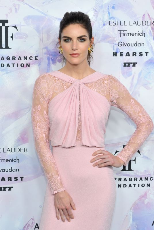 Hilary Rhoda Attends the 2019 Fragrance Foundation Awards at the Davd H. Koch Theater in New York