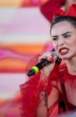 Ilira Gashi Performed at the Peace x Peace Benefit Festival in Berlin