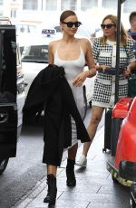 Irina Shayk and Stella Maxwell spotted holdings hand in Florence