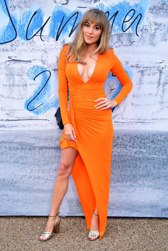Jacqui Ainsley Ritchie Attends the Serpentine Gallery Summer Party at Hyde Park in London