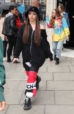 Jade Thirlwall, Perrie Edwards, Leigh-Anne Pinnock and Jade Thirwall from Little Mix seen at KISS FM UK
