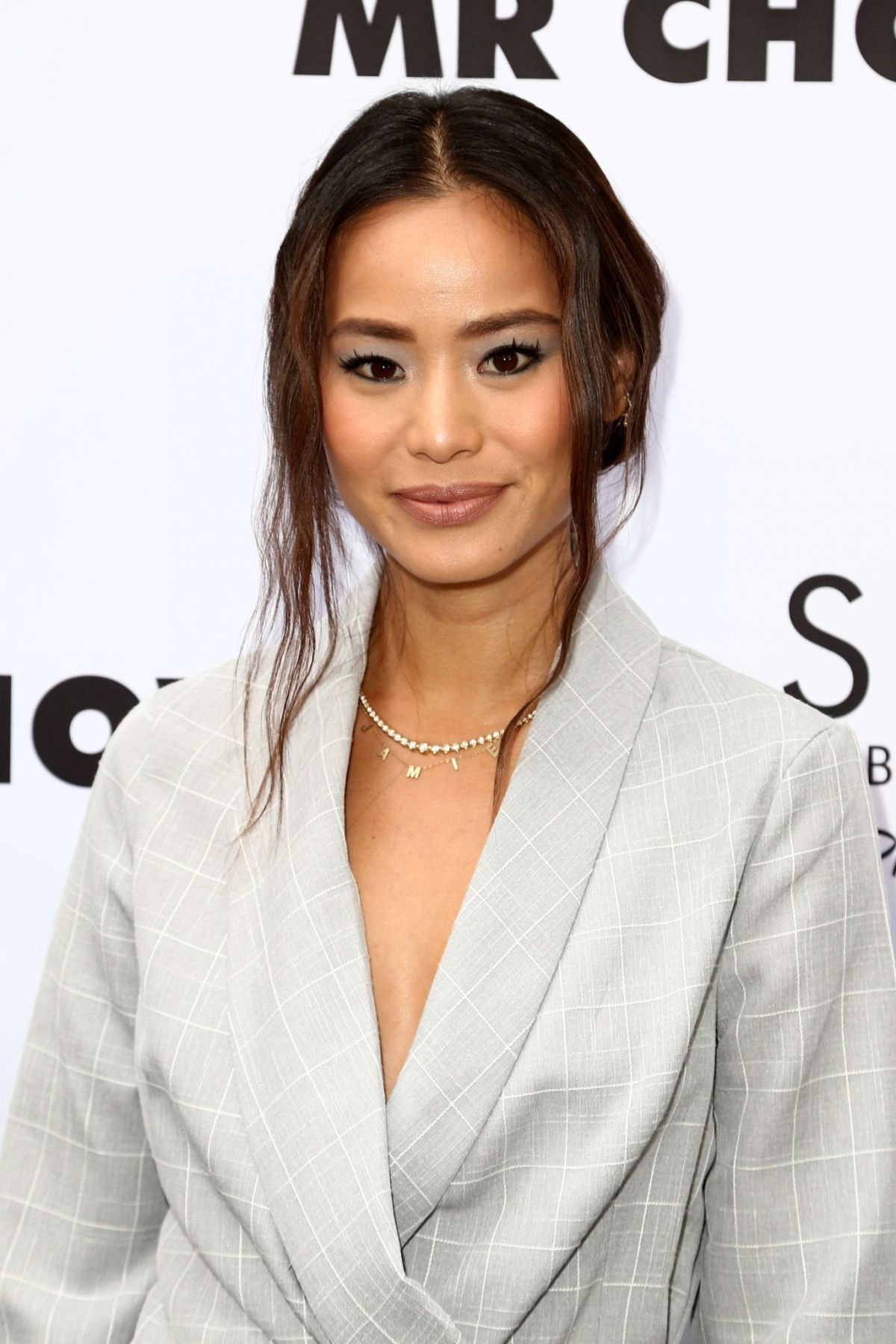 Jamie Chung At Launch of SAINT Modern Prayer Candles For A