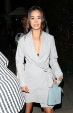 Jamie Chung At Mr Chow restaurant in Beverly Hills
