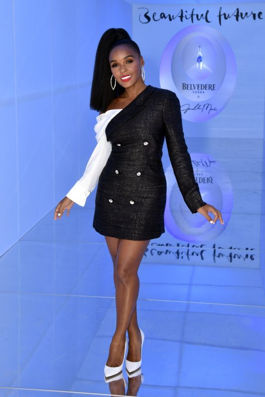 """Janelle Monae At """"A Beautiful Future"""" Limited Edition Bottle launch in NYC"""