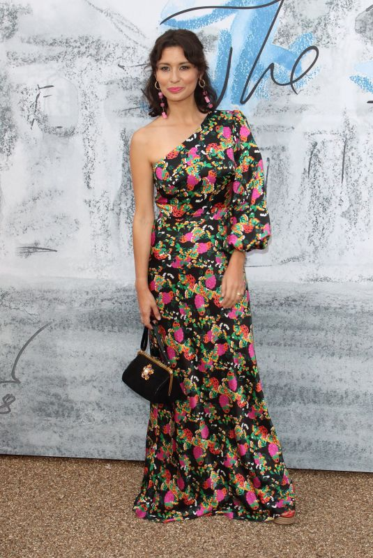 Jasmine Hemsley Attends the Serpentine Gallery Summer Party at Hyde Park in London