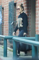 Jennifer Lopez Exiting a medical building in Beverly Hills
