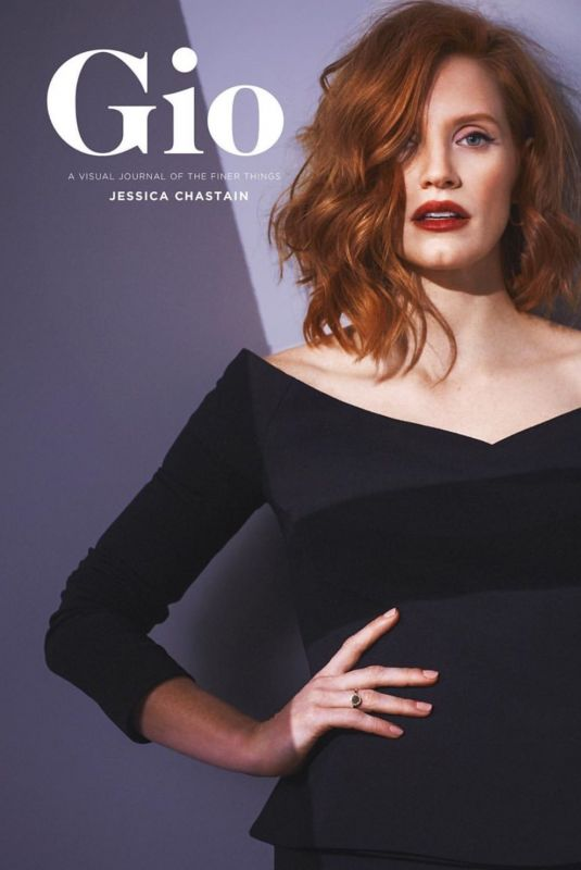 Jessica Chastain - Gio Journal 2019