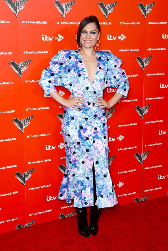 Jessie J During The Voice Kids Photocall held at the Royal Society of Arts, London