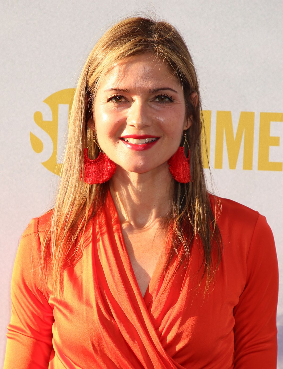 Jill Hennessy At City On A Hill TV show premiere, New