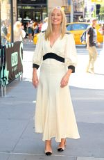 Joely Richardson Outside the BUILD Series in New York City