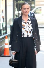 Julia Stiles Outside the Build Series in NYC