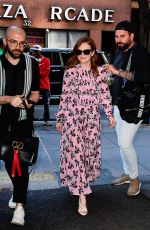 Julianne Moore Out in New York City